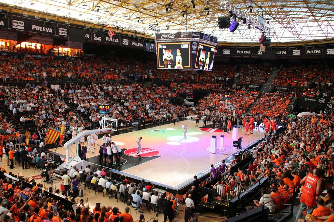 El pabellón Valencia Arena, la nueva Fonteta, para 2022