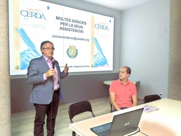 Convocats els primers Premis d'Investigació Erudit Cerdá a Castalla