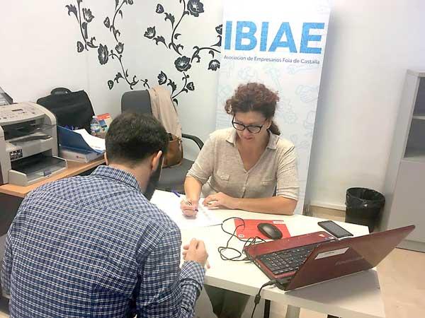 El servicio de colocación de IBIAE recibe más de cien ofertas de empleo