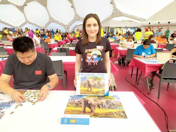 Soraya Pérez es classifica entre els 20 millors 'puzlistas' del món