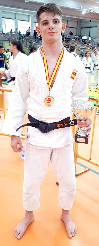 Jaume Bernabeu guanya la Supercopa d'judo júnior a València