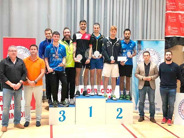 El ibense Fran Olivares, campió de el Màster Absolut de Liencres en dobles