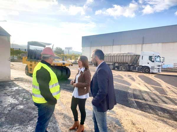El Ayuntamiento de Ibi habilita una parcela en el polígono como almacén de obras