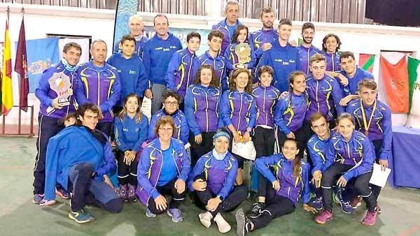 El CE Colivenc, campeón de España de orientación por clubes