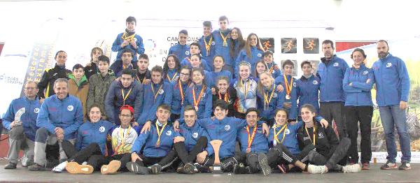 Excel·lents resultats dels orientadors de la Foia en el Campionat d'Espanya d'Orientació en edat escolar