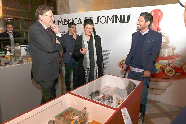 El juguete de Ibi, eje central de la campaña navideña del Consell