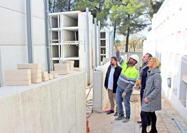 Les obres al Cementiri finalitzaran el primer trimestre de 2020