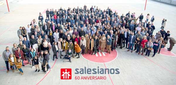 La comunitat educativa de Salesians d'Ibi celebra el seu 60 aniversari