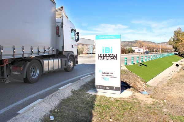 Finalizan las últimas obras de mejora en los polígonos industriales de Ibi