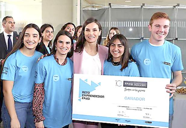 La idea para mejorar el planeta del IES Barrachina gana un premio princesa de Girona