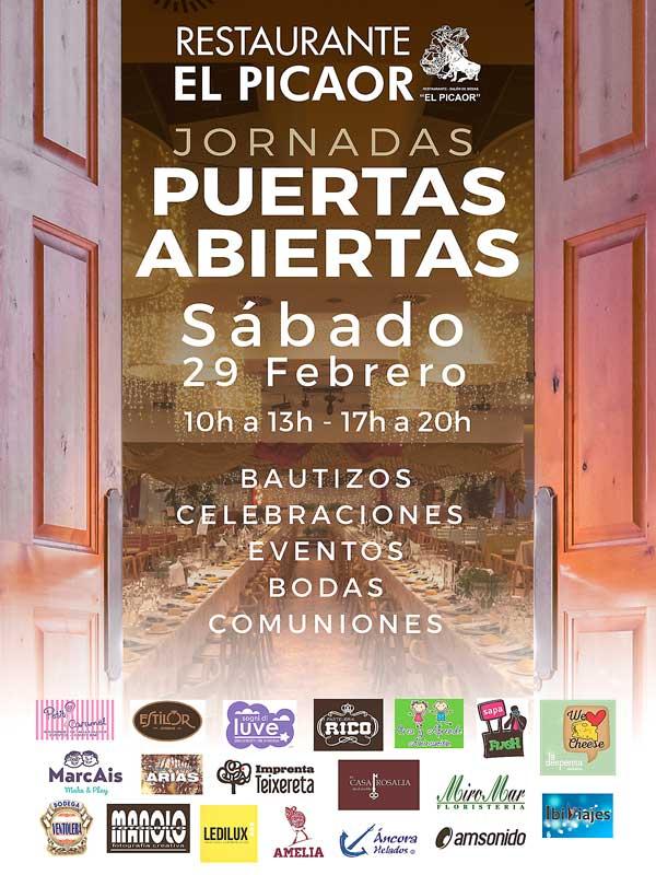 Jornada de puertas abiertas este sábado en el restaurante El Picaor de Ibi