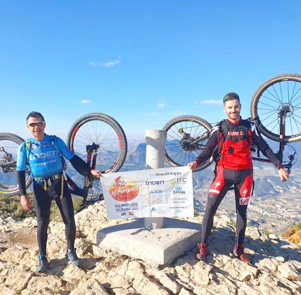 Cinc esportistes de la Foia de Castalla afronten el 'Repte Kilimanjaro 2020'