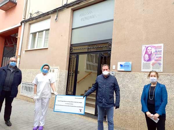 Smurfit Kappa dóna 20.000 euros a l'asil San Joaquín d'Ibi