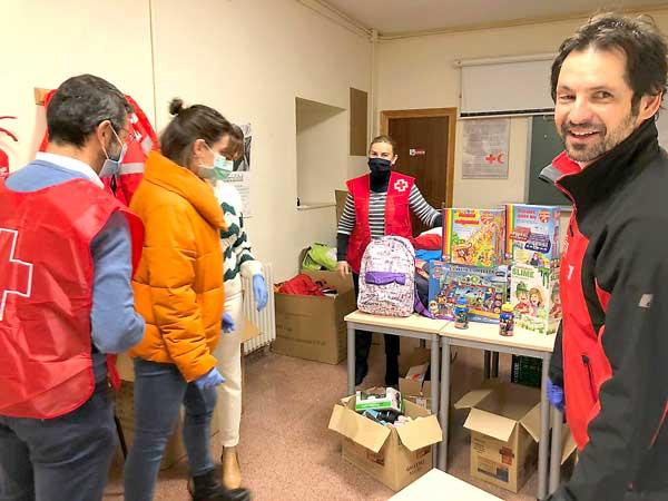 Cruz Roja atiende a más de 800 personas desde que comenzó la crisis