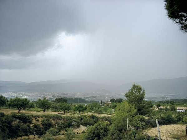 La pluja acumulada en quatre mesos ja arriba al 90% de la mitjana anual a Ibi