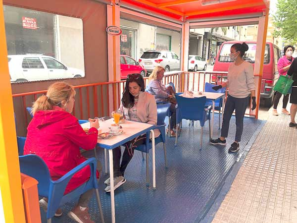 El Ayuntamiento de Ibi pedirá un estudio individualizado para ampliar las terrazas