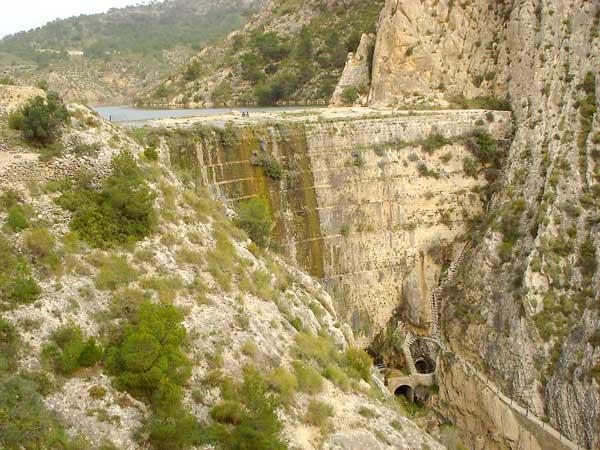 La Diputació posa en valor la presa de Tibi en el marc d'un projecte europeu vinculat a l'aigua
