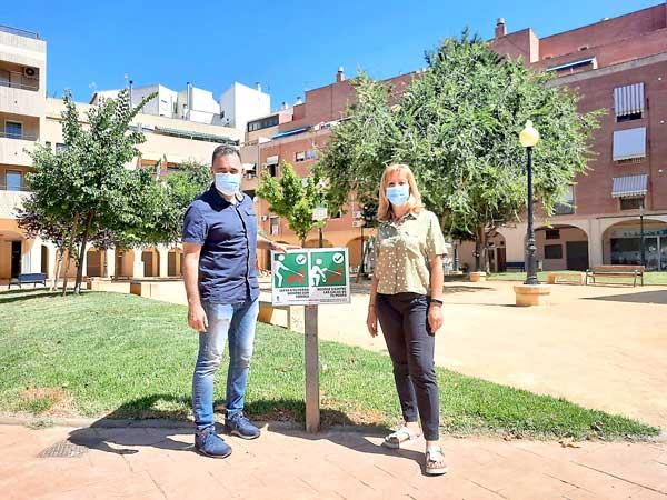 Tenencia de animales de Ibi renueva la cartelería en 50 espacios públicos