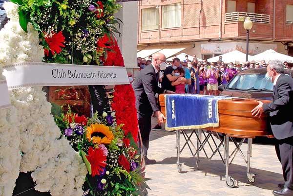 El Teixereta da el úlltimo adiós a su compañero Francisco Javier González Madrid