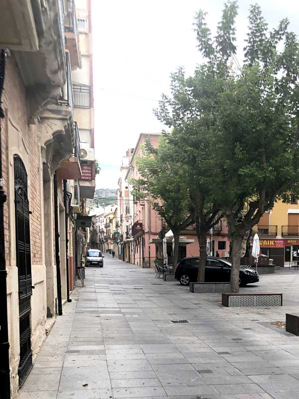 Ibi iniciará después de Navidad las obras para peatonalizar nueve calles del casco antiguo