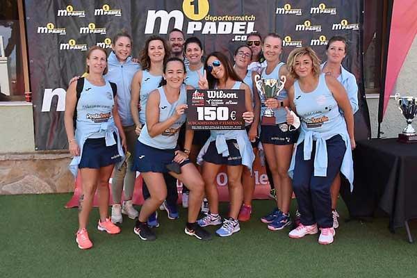 El Padel Plus Ibi se proclama subcampeón de la liga Deportes Match por equipos en Alicante