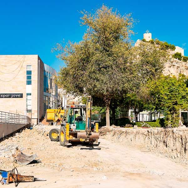 Castalla comienza las obras de accesibilidad al Hogar del Jubilado municipal por 61.611 euros