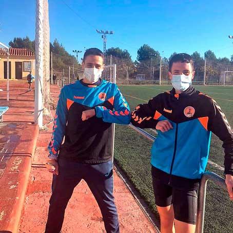 Los atletas ibenses Érik Tejero y David Jiménez rompen sus marcas personales en el Campeonato Autonómico de 10km en Ruta