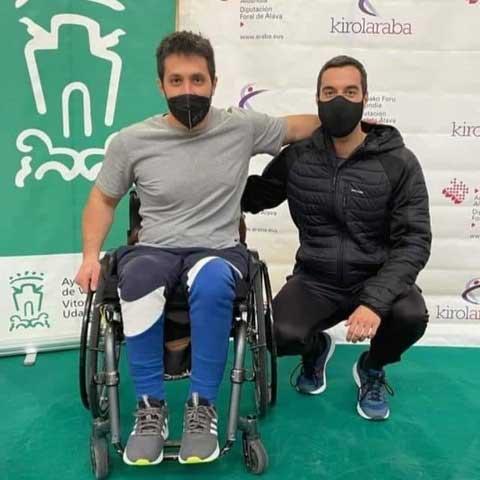 Medalla de oro en Parabádminton para el ibense Jordi Carrión