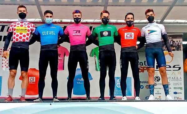 El ciclista castellut Carlos Martín Bonet es fa amb el primer lloc en la classificació de la general Interclubs Vinalopó