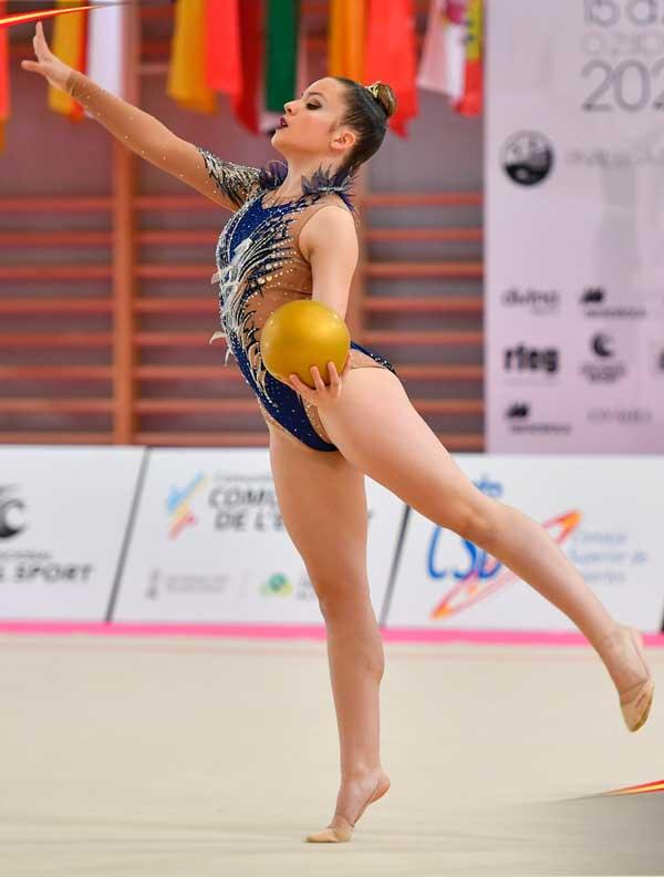 Olivia Santoyo aconsegueix el pas a el Campionat d'Espanya de Gimnàstica Rítmica que es celebrarà a Alfafar