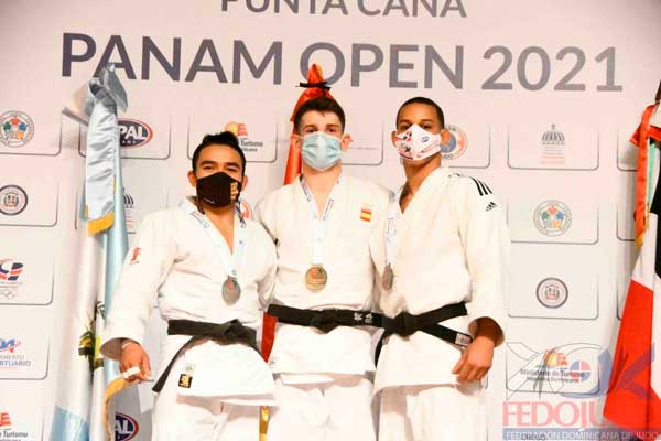 Jaume Bernabéu y Marina Castelló campeón y subcampeona del Punta Cana Panamerican Open Judo 2021