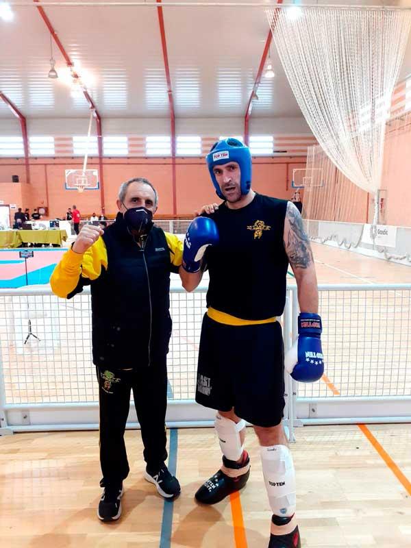 Pablo Reolid Campos, subcampeón en el Campeonato de Kick Boxing de Gandía