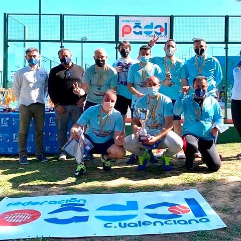 El Pádel Plus Ibi se proclama subcampeón de la Liga Autonómica  de Pádel por equipos de cuarta categoría