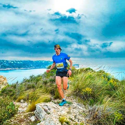 Antonio Martínez, oro en el Granadella Trail Costa Blanca 2021