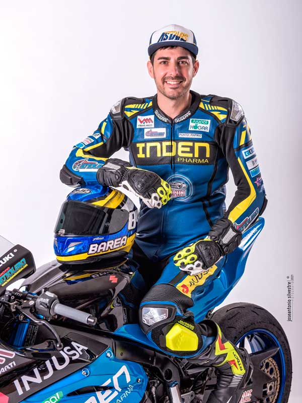 Rubén Barea correrá en el Campeonato de España de Superbike