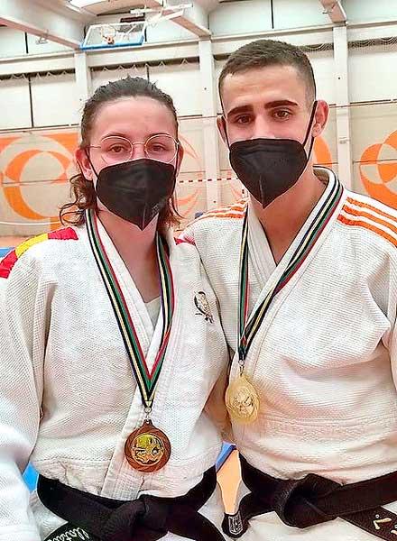 Gran participación de Noelia Rosa y Pedro?Gómez en el Autonómico Junior 2021