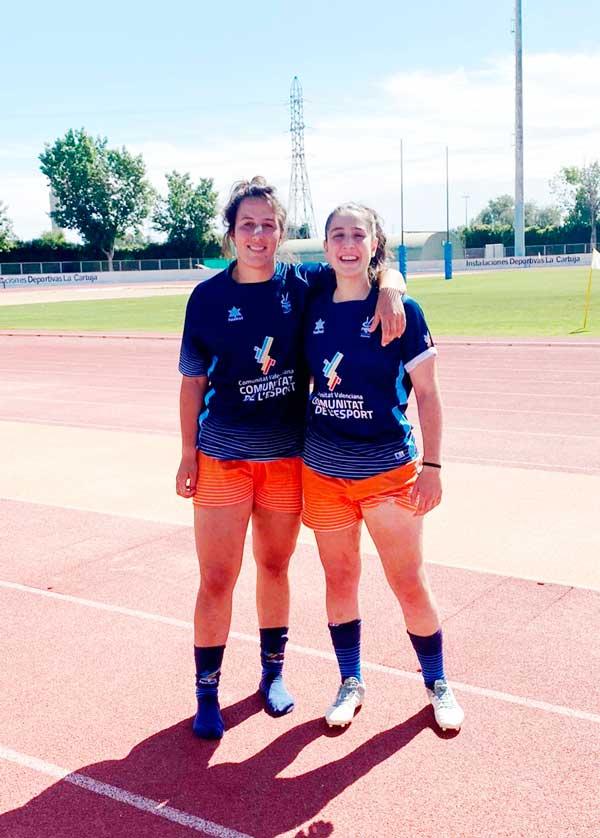 Las ibenses Leyre Bianchi y Ana Martínez, terceras en el Campeonato de España de Rugby por Autonomías