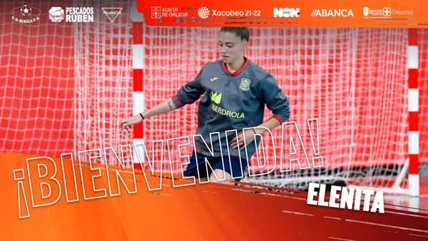 La ibense Elena García Martos firma por el C.D. Burela Fútbol Sala de primera división para las próximas dos temporadas