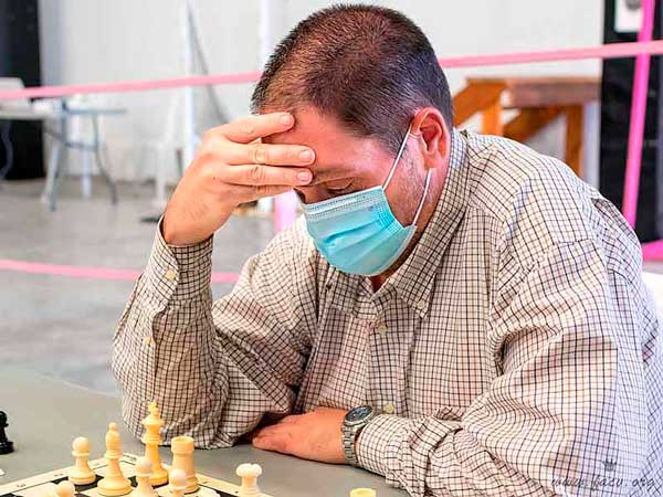 El Maestro Internacional Antonio Granero, campeón de la División de Honor de ajedrez con el C.A. Silla Bosch