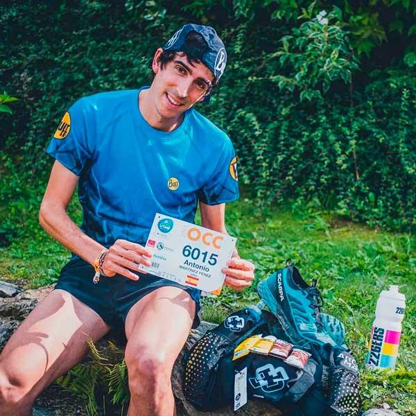El atleta colivenc Antonio Martínez no pudo con el Trail Ultra Medium de Mont Blanc