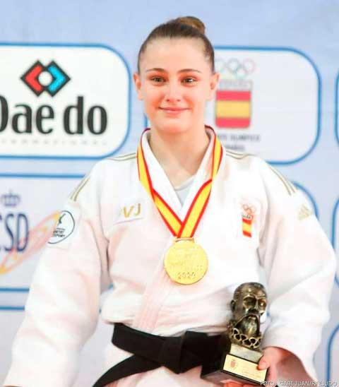 Séptima posición para Marina Castelló en el Mundial Júnior de Judo
