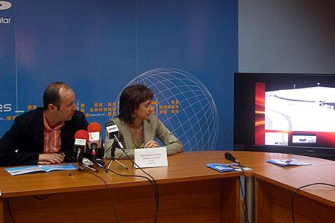 El PP de Ibi presenta el futuro polideportivo en el Alamí y asegura que son los únicos que pueden hacerlo realidad